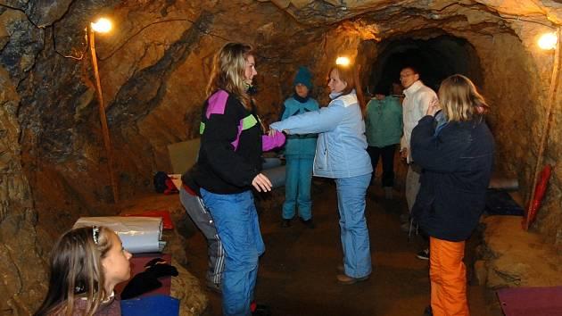 V jeskyních je příjemný chládek.