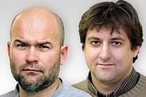 Tomáš Kasal (vlevo) a Petr Vitásek