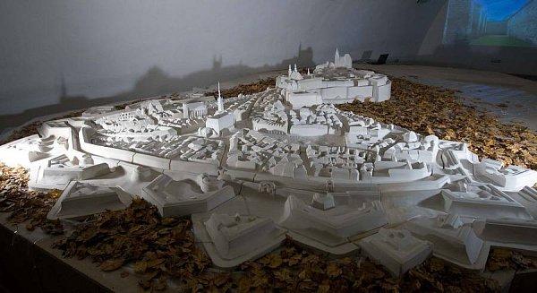 Model olomoucké pevnosti