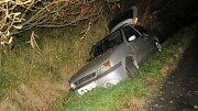 Nehoda opilé řidičky v Křelovské ulici v Olomouci