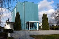 Olomoucké funkcionalistické krematorium.