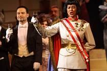 Straussova opereta Netopýr v Moravském divadle