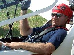 Pilot Jiří Steiger.
