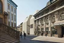 Vizualizace podoby Středoevropského fóra v Olomouci