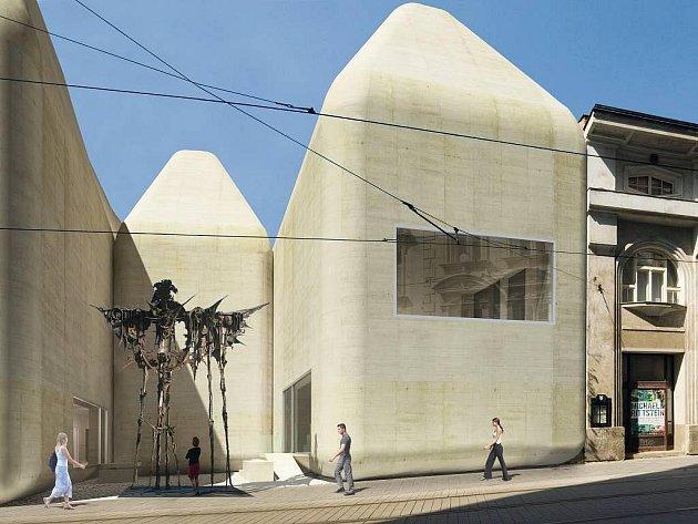 Nové stavby v Olomouci