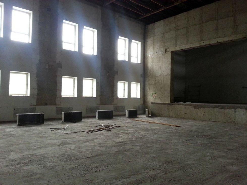 Rekonstrukce Městského klubu ve Šternberku