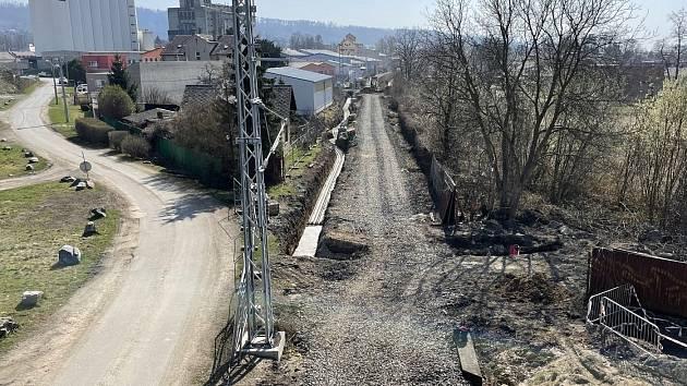 Proměna tratě Šternberk - Uničov, 1. dubna 2021