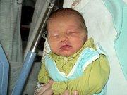 Tomáš Fiury, Břidličná, narozen 8. října ve Šternberku, míra 51 cm, váha 3410 g