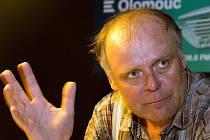 Olomoucký rodák herec Igor Bareš natáčí rozhlasový seriál.