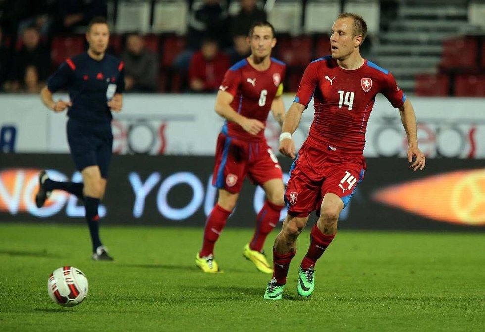 Přátelák Česko - Rakousko na Andrově stadionu v Olomouci