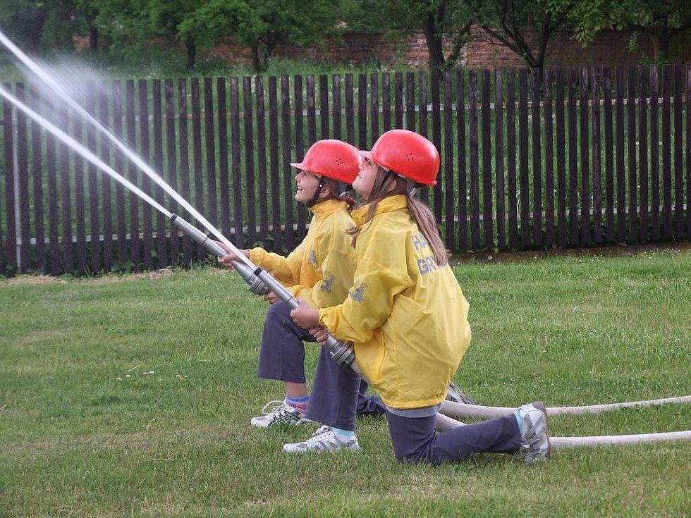 SDH Grygov: mladí hasiči