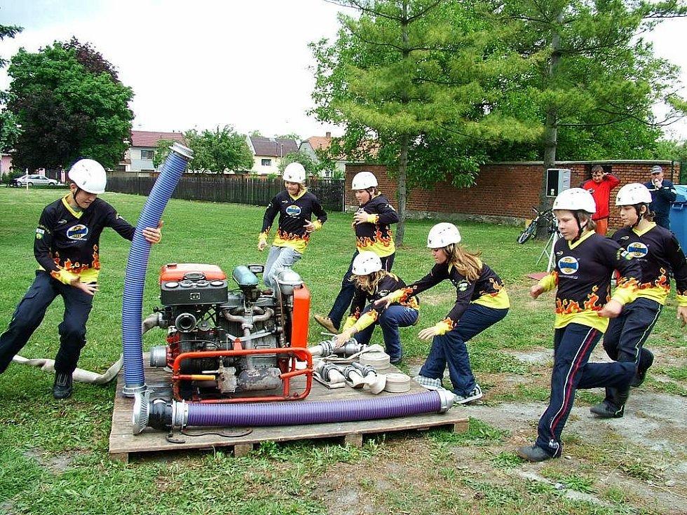 SDH Grygov: oddíl mladých hasičů