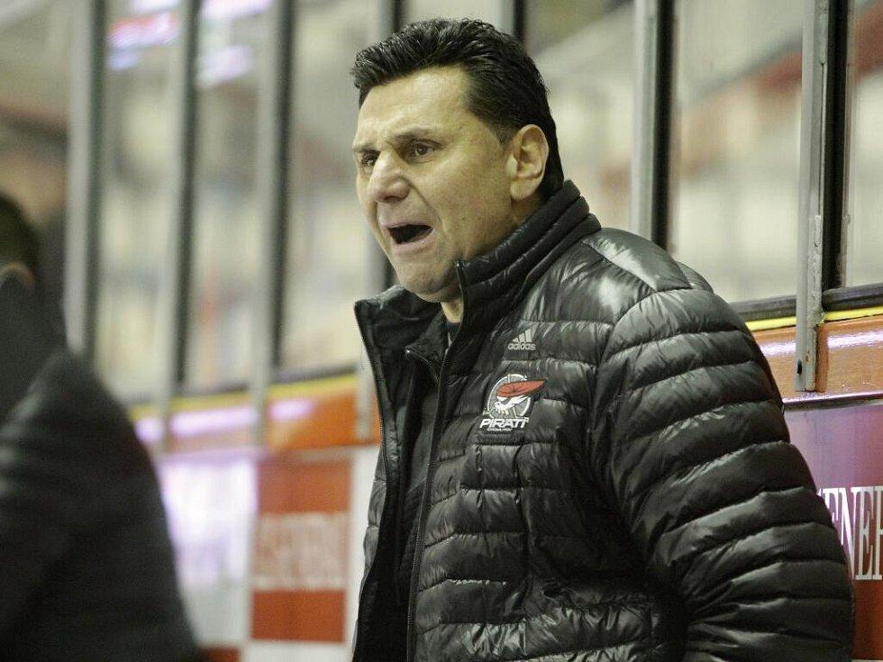 Vladimír Růžička, trenér Chomutova