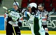 Karlovy Vary, hokej, tipsport extraliga, play out, HC Energie, HC OlomoucKarlovy Vary - zelená