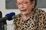 Hana Maciuchová na festivalu Prix Bohemia Radio v Olomouci v roce  2019