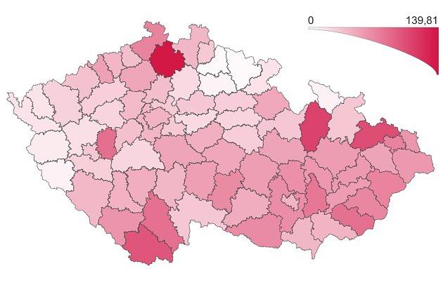 Covid na Šumpersku? Jeden znejvětších výskytů ze všech okresů ČR.