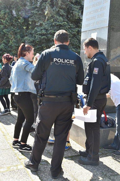 Studentská stávka Fridays for Future v Olomouci, 24. 5. 2019