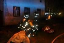 Tragický požár rodinného domku v Dubu nad Moravou