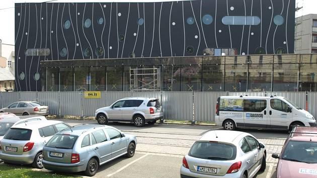 Stavba nové lékárny Fakultní nemocnice Olomouc