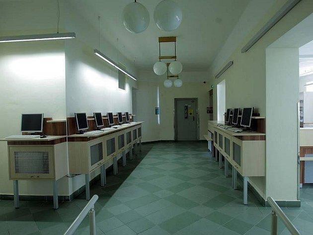 Zrekonstruované výpujční oddělení Vědecké knihovny v Olomouci