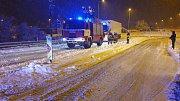 Následky vydatného sněžení v noci z neděle 3. února na pondělí 4. února