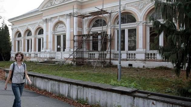 Restaurace Fontána ve Smetanových sadech