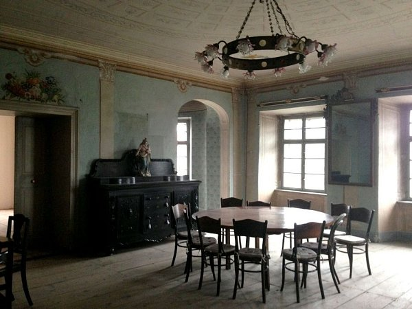 Barokní fara vNákle