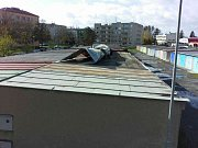 Následky silného větru v Olomouckém kraji