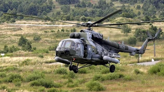 Vrtulník Mi-171. Ilustrační foto