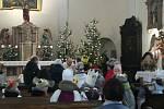 Tříkrálová sbírka proběhla v Bohuňovicích v sobotu 11. ledna
