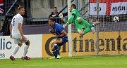 Anglie proti Itáli. Euro U21 na Andrově stadionu v Olomouci