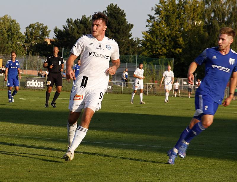 Olomoucká Sigma vyhrála ve 2. kole domácího poháru MOL Cupu v Uničově 4:2. Pavel Zifčák