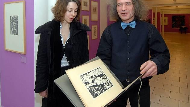 Jan Placák sbírá expresionisty přes 20 let.