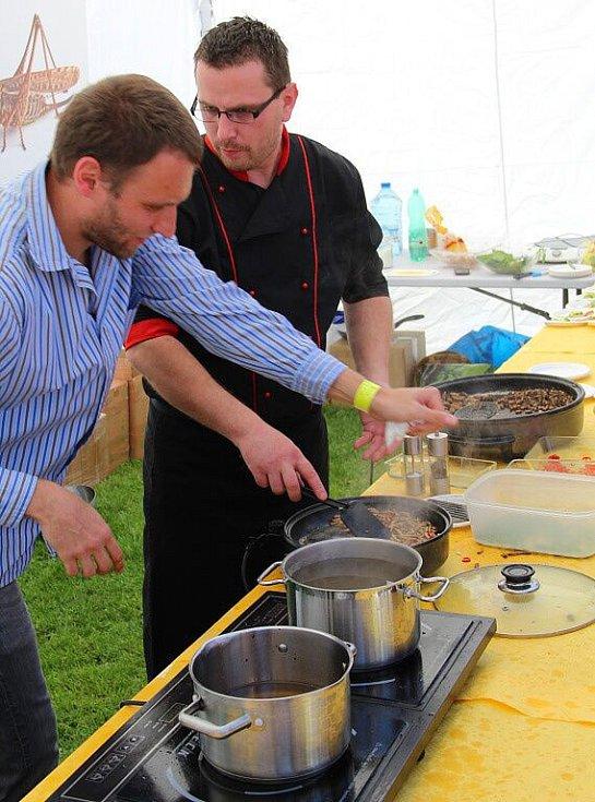 Garden Food Festival ve Smetanových sadech v Olomouci