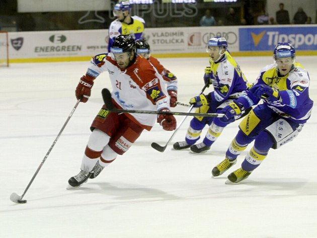 HC Olomouc proti PSG Zlín