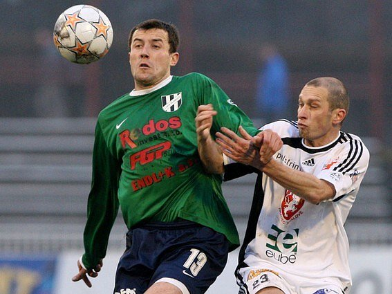 Petr Vodák (vlevo).