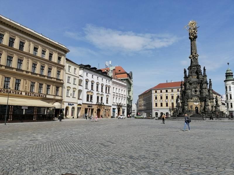 Filmová místa v Olomouci. Horní náměstí