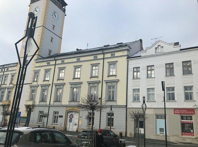 VLitovli již vytipovali objekt pro očkování veřejnosti proti Covid-19.Nabídnou prostory na náměstí Přemysla Otakara hned vedle radnice, 14.ledna 2021
