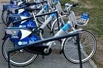Sdílená kola společnosti Nextbike v Olomouci. Ilustrační foto