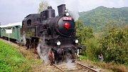 Parní lokomotiva zvaná Velký Bejček