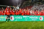 Vítěz poháru Slavia Praha na Andrově stadionu v Olomouci