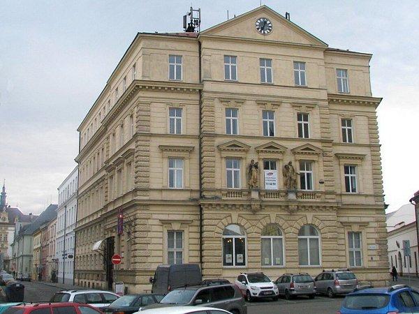 Budova pošty na náměstí Republiky vOlomouci