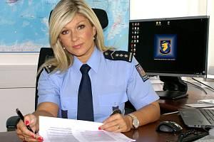 Kateřina Rendlová, mluvčí cizinecké policie