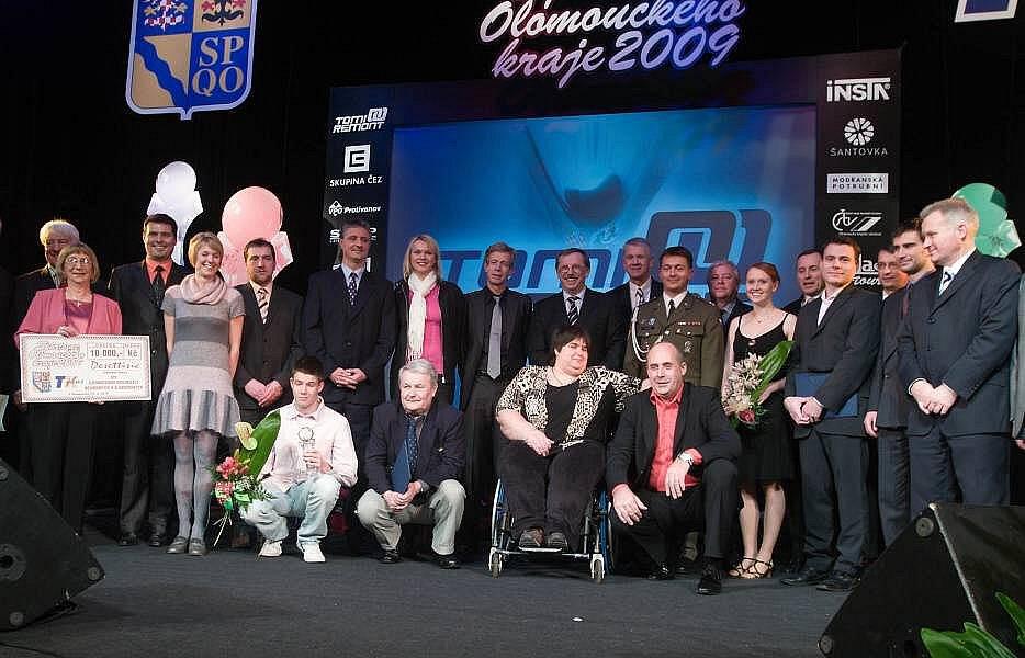 Vyhlášení Sportovce roku Olomouckého kraje v Šumperku