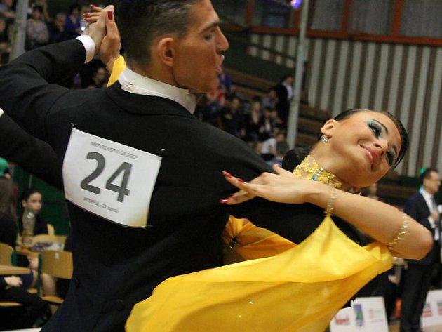 Mistrovství ČR v kombinaci deseti tanců v Olomouci