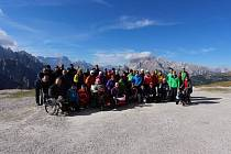 Jedna z minulých expedic na Tre Cime di Lavaredo v Dolomitech.