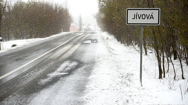 Jívová, Véska a Tovéř  na Olomoucku 19.4.2017 ráno
