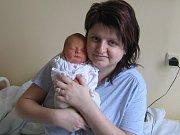 Anna Dlouhá, Prostějov, narozena 4. února v Olomouci, míra 46 cm, váha 2590 g