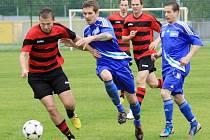 Šternberk (v modrém) proti Konici