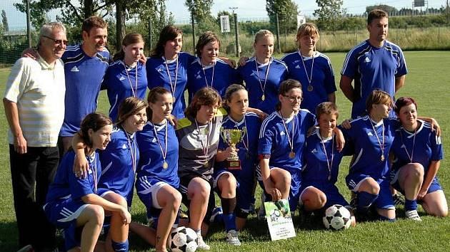 Turnaj fotbalistek v Olomouci - Nemilanech: třetí místo pro Olomouc